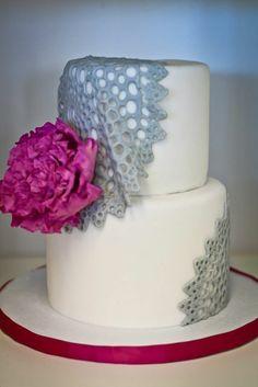 Draped Doilies.  Fondant Cakes « Sweet & Saucy Shop Sweet & Saucy Shop