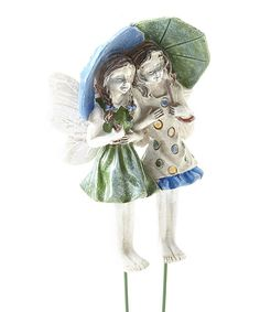 Look at this Ava & Grace Fairy Figurines - Set of Two on #zulily today!