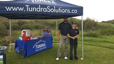 Jason Beacock and his son Caden had an excellent time supporting Rangeland Engineering at their annual Golf Tournament over the weekend. In the process, Caden raised over $700 dollars for the Kids Cancer Care Foundation by out-driving golfers on our sponsored Par 3. Tundra is happy to match Caden's efforts for a total of $1400. Thank you to everyone that attended for being good sports and supporting a great cause! Great Job Caden!