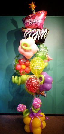 115 Best Balloon Bouquets Images On Pinterest In 2018