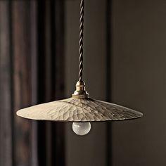Analogue Life - All For House İdeas Raku Pottery, Lampe Art Deco, Ceramic Light, Rustic Lamps, Lamp Shades, Interior Lighting, Floor Lamp, Pendant Lighting, Light Fixtures
