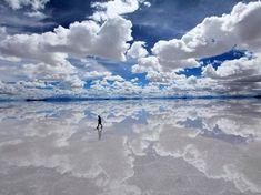 Salty - Bolivia. Really wanna go there..
