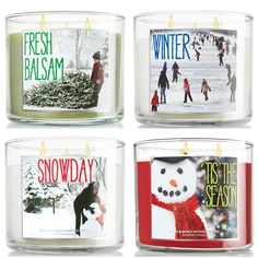 Bath Body Works Holiday 2013 Candles