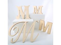Unpainted Wooden Letters | Unpainted Wood Letters | Large Wood Letters | Small…