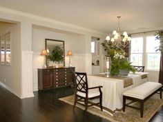 Dining Room Niche : Studio Design Group : Dining Rooms : Pro Galleries : HGTV Remodels