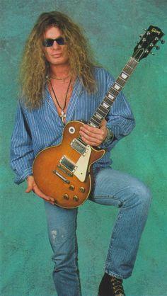 John Sykes (March/1996/Young Guitar)