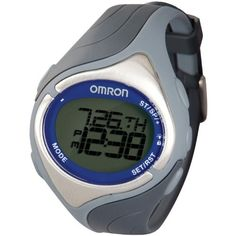 Omron HR-210 Strap Free Heart Rate Monitor  #Free #Heart #HR210 #Monitor #Omron #Rate #Strap MonitorWatches.com