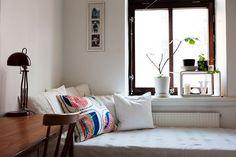 Shelf in the window