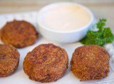 Cilantro & Cotija Cheese Idaho® Potato Croquettes | Recipe on idahopotato.com