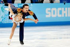 Tatiana Volosozhar e Maxim Trankov patinadores Sochi (Foto: Reuters)