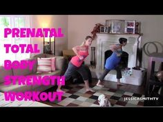 Exercise for Pregnancy: Free Full Length 20-Minute Prenatal Total Body Strength Workout on JESSICASMITHTV! Subscribe on YouTube to view all 3 of our prenatal videos: youtube.com/jessicasmithtv.com
