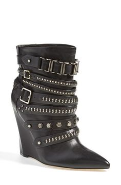 L.A.M.B. 'Thacker' Wedge Boot (Women) available at #Nordstrom