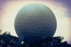 Epcot Spaceship Earth at Disney World