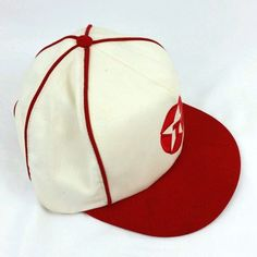 Vintage Texaco Snapback Hat Cap 5 Panel RARE White Red Tubing Truckers  Advertise  Texaco 2a53a0390