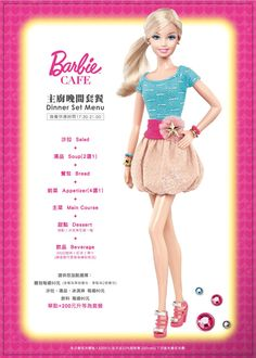 Barbie Cafe Opens in Taiwan, Officially Licensed by Mattel