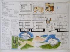 CASA UNIFAMILIARE  Esame di Stato per Architetti, sezione A   La Prova Grafica, Il tema di Progettazione