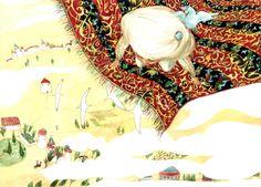 Colorhood - 1001 Nights by Cristiana Radu Illuminated Manuscript, Her Style, Art Nouveau, Fine Art Prints, Princess Zelda, Japanese, Culture, Night, Drawings