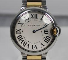 Cartier Uhr Ballon Bleu Quarz aus Stahl und Gold Referenz Nummer W69008Z3 mit Box und Papieren - als Geldanlage und Sicherheit für Ihren Pfandkredit  https://www.ipfand.de/geldanlage  #Geldanlage #Cartier #BallonBleu