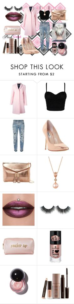 """Powerful Pink"" by reinenoire ❤ liked on Polyvore featuring MSGM, Dolce&Gabbana, Dune, Urban Expressions, LE VIAN, Neiman Marcus, Laura Mercier, contest, Pink and pinkcoats"