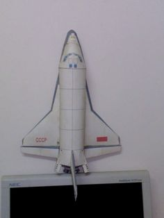 Paper Model_Space Shuttle Columbia ..By Saiedabdo