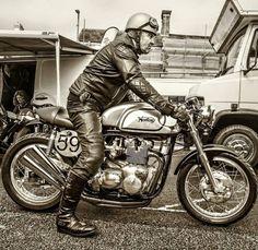 Norton & rider