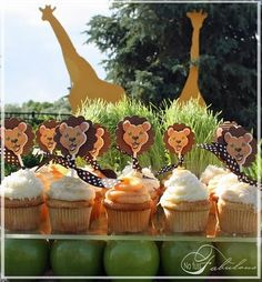 Doces para Festa Safari