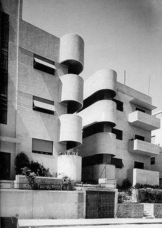 Landa House, Tel Aviv, Israel by Avraham Berger + Y. Mandelbaum (1935)