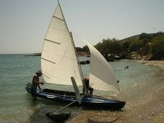 Klepper S4 with sails...ideal !