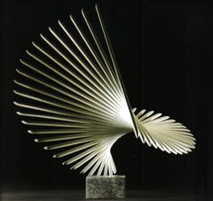 Charlotte Meyer Bronze Abstract Sculpture, Wood Sculpture, Museum Plan, Dancing Drawings, Kinetic Art, Soul Art, Kirigami, Land Art, Wire Art