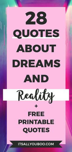 You can make your dreams your reality! You can reach your dreams and live a life you love.  Click here for 28 motivational quotes on dreams and reality. It's time to turn your dreams into your reality. #DreamLife #DreamBig #AchieveYourGoals #ReachingYourGoals #InspirationalQuotes  #QuotesToLiveBy #QuotesDaily #QuotesToRemember #MotivationalQuotes #Motivation #GoalDigger #GoalGetter #GoalCrushing #AccomplishGoals #PositiveQuotes #PersonalGrowth #LifeGoals #GrowthMindset #LifeYourBestLife Open Quotes, Smart Quotes, Badass Quotes, Dream Quotes, Life Quotes, Change Quotes, Quotes To Live By, Cute Quotes For Instagram, Perseverance Quotes