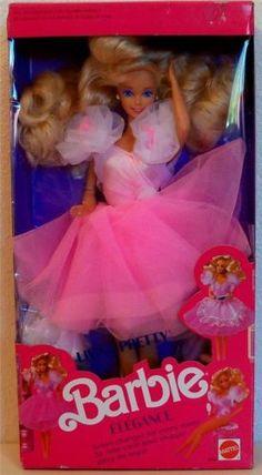 1989 Living Pretty Barbie Dollvinyl Doll Collectible Doll   eBay