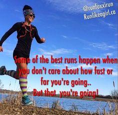 Definitely Run Like A Girl, Girls Be Like, Don't Care, Good Things, Running, Baseball Cards, Shit Happens, Motivation, Health