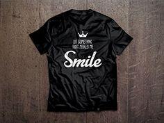 Do Something That Make Me Smile Round Neck Half Sleeves C... https://www.amazon.in/dp/B0792RJTSS/ref=cm_sw_r_pi_dp_U_x_g5TxAb7D43CYA