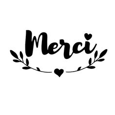 """Tampon Clear """"Merci"""" Peony Painting, Birthday Posts, Doodle Lettering, Typography, Birthday Thank You, Happy Birthday, Word Up, Teaching French, Thank You Notes"""