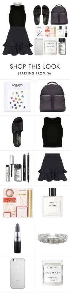 """""""4.089"""" by katrina-yeow ❤ liked on Polyvore featuring adidas Originals, Opening Ceremony, River Island, Bobbi Brown Cosmetics, Elie Saab, Chanel, MAC Cosmetics, Native Union and Herbivore"""