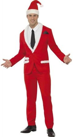 Red and White Men Adult Christmas Santa Costume - Large .- Red and White Men Adult Christmas Santa Costume – Large – 33481248 Red and White Men Adult Christmas Santa Costume – Large - Costumes Sexy Halloween, Costumes For Sale, Christmas Costumes, Cool Costumes, Adult Costumes, Santa Costumes, Spirit Halloween, Costume Paris, Costume Dress