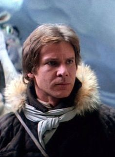 Harrison Ford as Han Solo from Star Wars The Empire Strikes Back