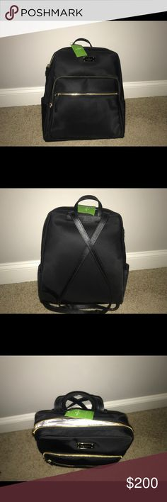 NEW WITH TAGS Kate Spade Large Black Hilo Backpack NEW WITH TAGS never used- Original price $299- Asking $200 kate spade Bags Backpacks