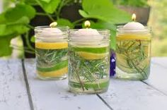 Image result for mosquito repellent mason jar