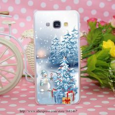 Merry Christmas Happy New Year Transparent Hard Case Cover for Smasung Galaxy S5 Mini A3 A5 A7 A8 Note 2 3 4 5 #>=#>=#>=#>=#> Click on the pin to check out discount price, color, size, shipping, etc. Save and like it!