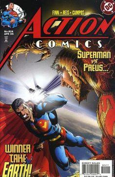 Action Comics #824 Superman vs Preus Winner takes Earth DC Comics 2005