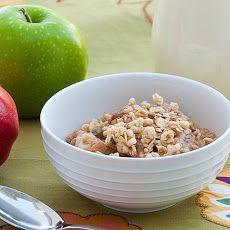 Apple Cinnamon Overnight Oatmeal Recipe