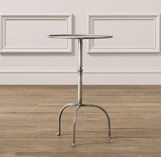 RH Baby & Child's Parisian Side Table:Just like the classic metal bistro table that inspired it, our infinitely useful side table lives to serve. A gilt finish adds a lustrous grace note to its otherwise functional character.