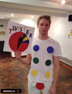 Twister Halloween Costume! Too funny :)