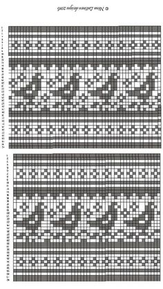 Cross stitch pattern and granny square diagram for Handmade Fair Fair Isle Knitting Patterns, Knitting Stiches, Fair Isle Pattern, Knitting Charts, Loom Knitting, Knitting Tutorials, Knit Stitches, Free Knitting, Cross Stitch Bird