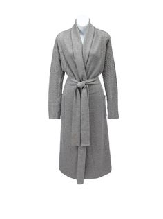 907ebf808c 67% OFF Sofia Cashmere Women s Cable-Knit Bathrobe (Heather Grey) Cashmere  Robe · Cashmere RobeMen s RobesNew FashionHigh ...