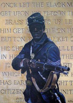Buffalo Soldiers Paintings and Art - Bobb Vann