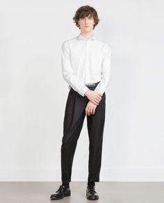 Image 1 de CHEMISE JACQUARD CAMOUFLAGE de Zara