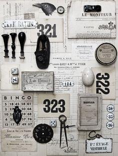 Vintage & Antique Elements.