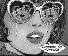 Goodbye to romance!
